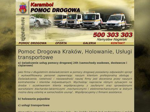 Nagielski - pomoc drogowa Kraków