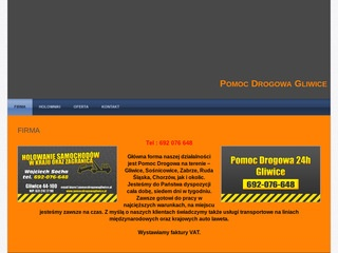 Pomoc Drogowa Gliwice tel 24h