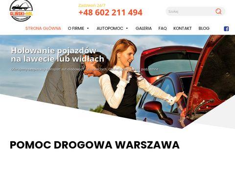Auto-Hol - pomoc drogowa Warszawa