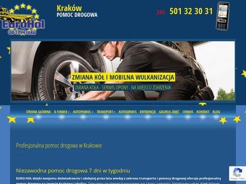 01 Euro Hol - holowanie w Krakowie