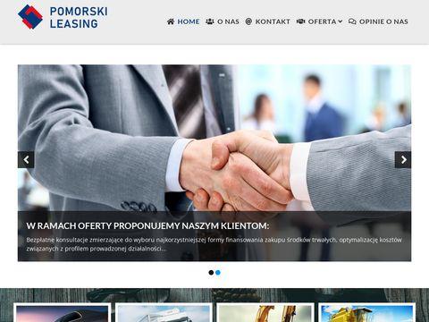 Pomorski-leasing.pl doradca finansowy M. Strzelczyk