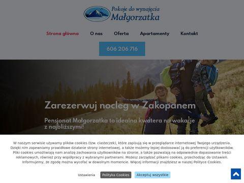 Pokojemalgorzatka.pl kwatery Zakopane