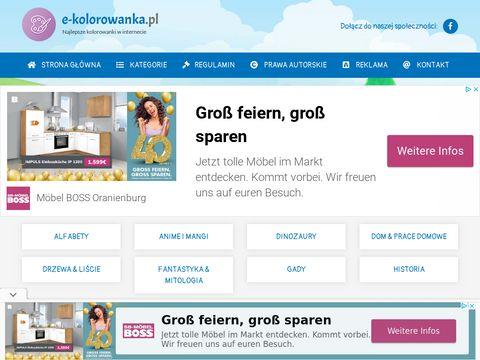 Pokoloruj.com.pl kolorowanki do wydruku