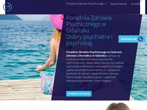 Lifemedica poradnia psychiatryczna Gdańsk