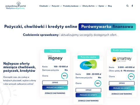 Pozyczkowy-portal.pl chwilówka