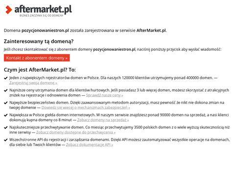 Pozycjonowaniestron.pl - wysoka pozycja w Google