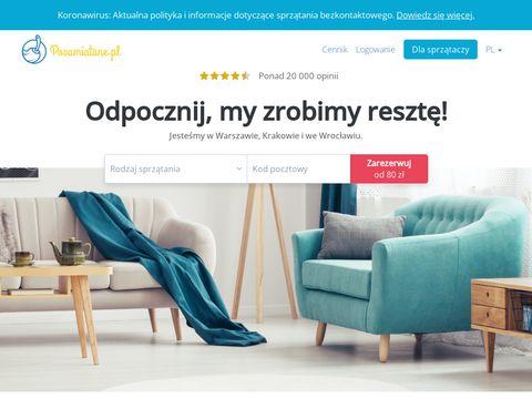 Pozamiatane.pl - firma sprzątająca - Warszawa