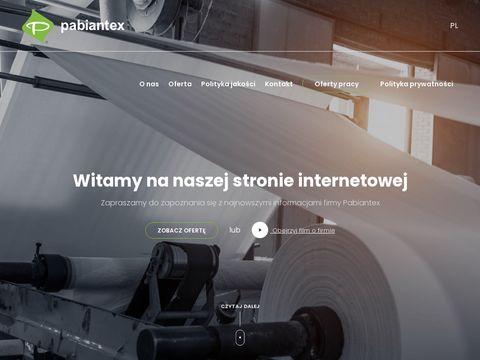 Pabiantex.com.pl płótna filtracyjne