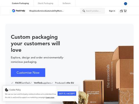 Packhelp.com kartony z nadrukiem