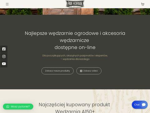 Pankornik.pl producent wędzarni ogrodowych