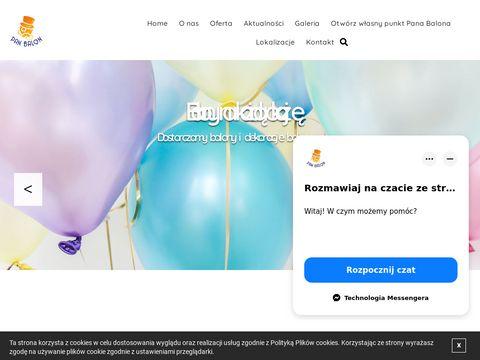 Pan Balon sp. z o.o. eventy firmowe Poznań