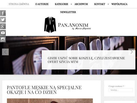 Pan-anonim.pl męski styl