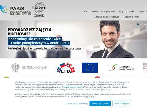 Pakis.pl - kursy instruktorskie