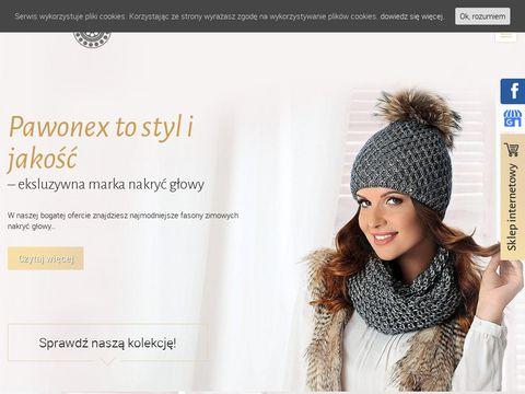 Pawonex.pl produkcja czapek zimowych