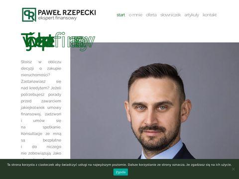 Pawelrzepecki.pl kredyt hipoteczny Szczecin