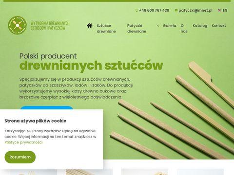 Patyczki-ns.pl do szaszłyków producent