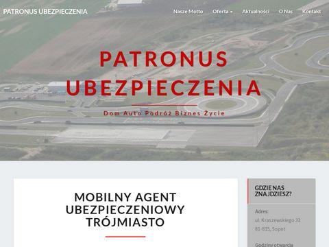 Patronus-ubezpieczenia.pl mobilny agent