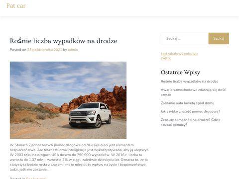 Pat-Car - pomoc drogowa w Płocku