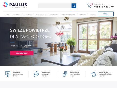Paulus-rekuperatory.pl rekuperacja