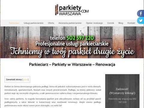 Parkiety-warszawa.com