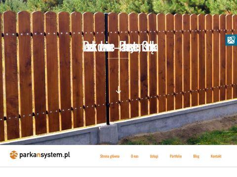 Parkansystem.pl bramy drewniane ostrołęka
