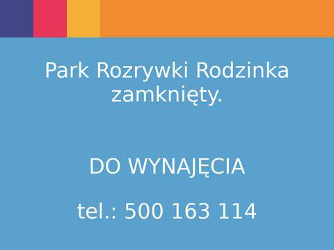 Parkrodzinka.pl Park rozrywki dla dzieci i rodzinki