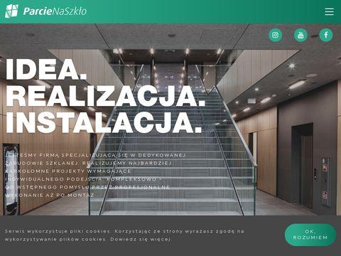 Parcienaszklo.com.pl balustrady szklane