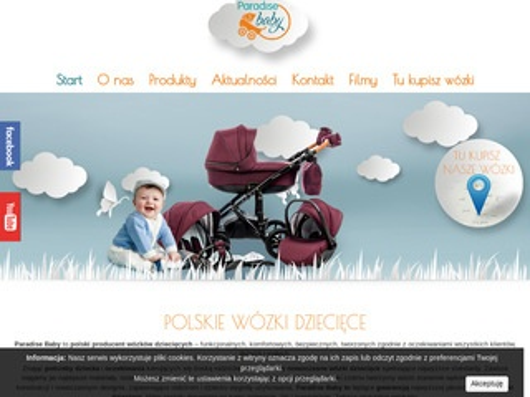 Paradisebaby.pl wózki dziecięce