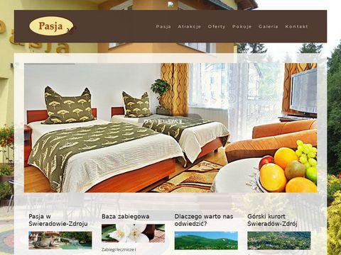 Pasja-swieradow.pl nocleg w górach