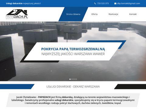 Papadach.pl dekarz Warszawa