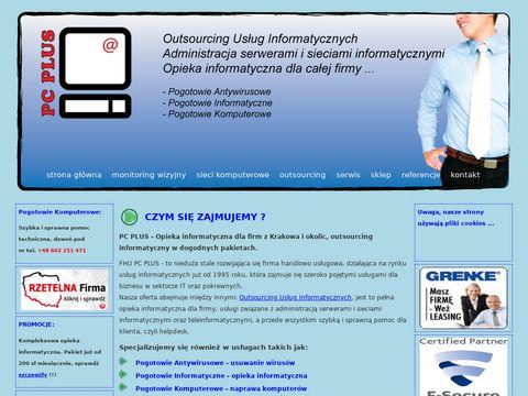 FHU PC Plus naprawa komputerów Kraków