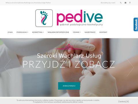 Pedive.pl pedicure brodawki Rumia