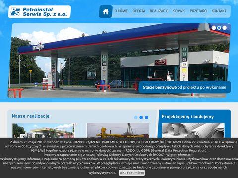 Petroinstal-Serwis modernizacja stacji paliw