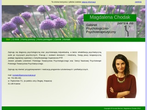 Gabinet Psychologiczny Magdaleny Chodak