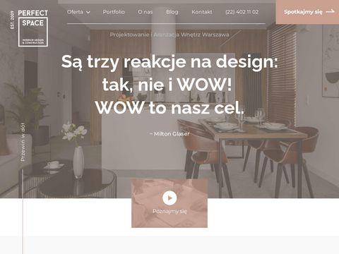 Perfect Space - projektowanie wnętrz