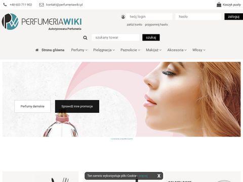 Perfumy sklep internetowy – stylowe zapachy