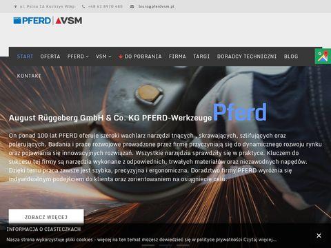 Pferd-VSM narzędzia do szlifu