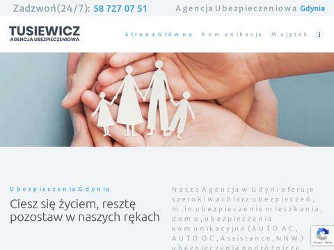 Pzugdynia.pl ubezpieczenia