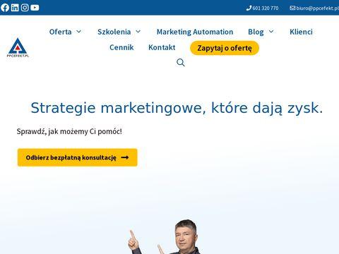 Ppcefekt.pl agencja - kampanie AdWords