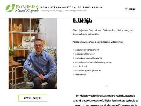 Paweł Kapała dobry psychiatra