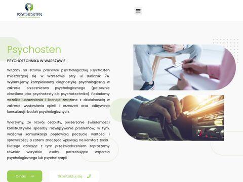 Psychosten.pl - psychotesty