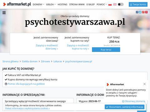 Psychotestywarszawa.pl