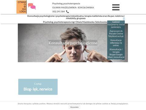 Psychoterapeuta Częstochowa - psychoterapia
