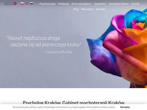 Psycholog-roza.pl pychoterapia par Kraków