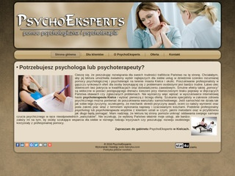 Psycholog, psychoterapeuta Kielce i okolice - PsychoEksperts