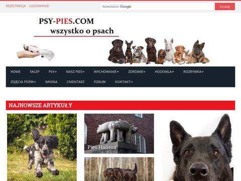 Psy-pies.com wszystko o psach, rasy