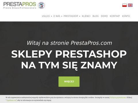 Prestapros.com sklepy PrestaShop