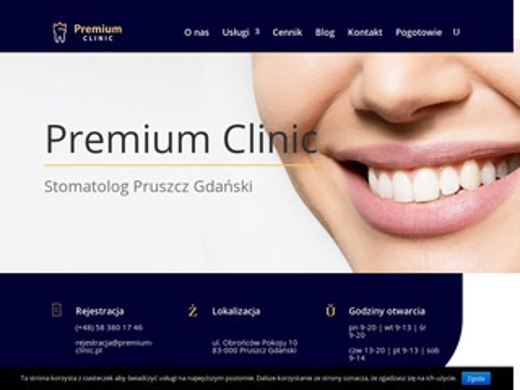 Premium-clinic.pl dentysta Pruszcz Gdański