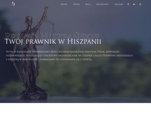 Prawohiszpanskie.pl kancelaria adwokacka