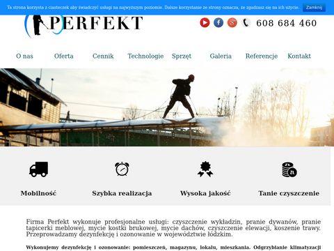 Pranieperfekt.pl dywanów tapicerki Łódź